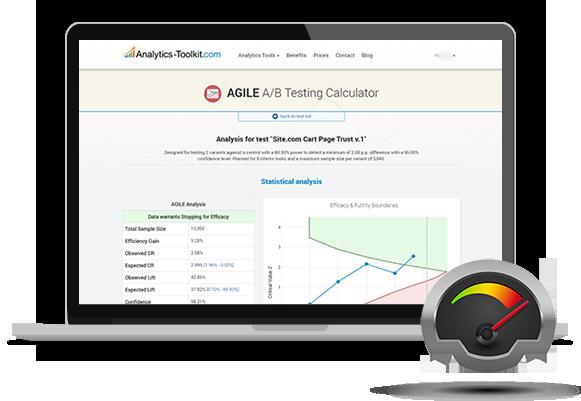 AGILE A/B Testing Calculator